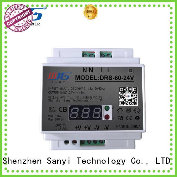 Custom din rail power supply 24vdc equipment cheap factory price for dc