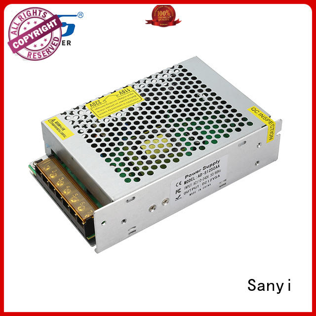 Sanyi factory price low ripple switching power supply company for equipment