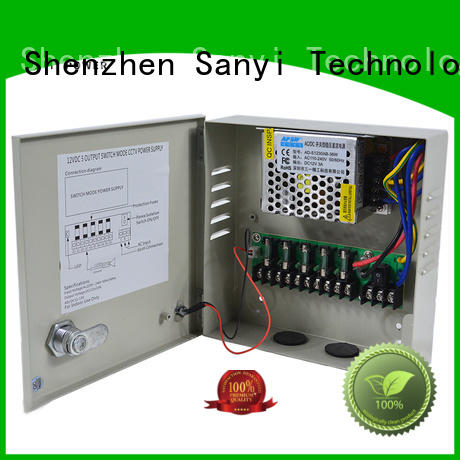 Sanyi durable cctv power supply road for led