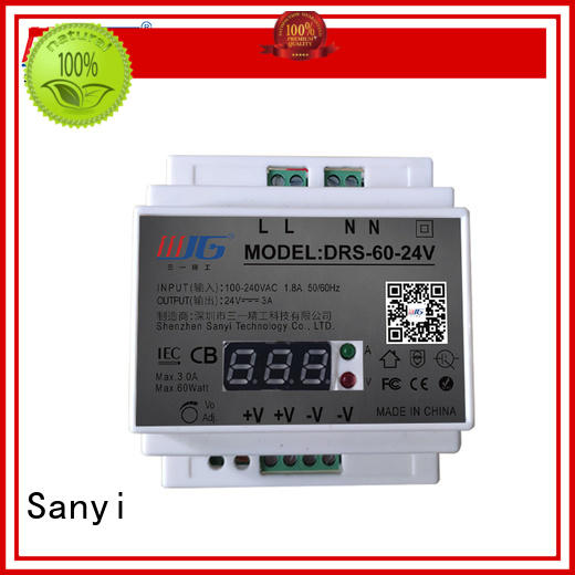 automation din rail mount power supply equipment for equipment Sanyi