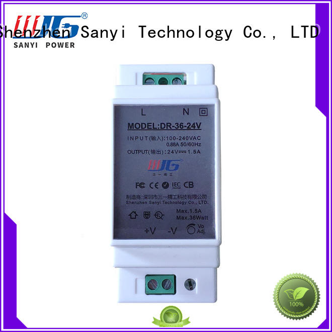 Custom din-rail power supply equipment cheap factory price for automation