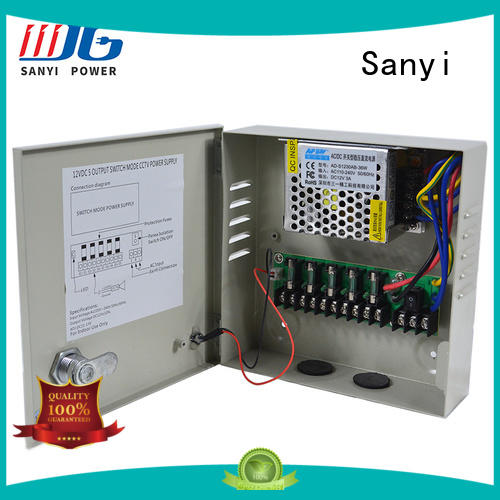 New cctv 12 volt power supply durable long lifespan for led