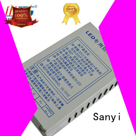 Sanyi Top led strip lights power supply power box for camera