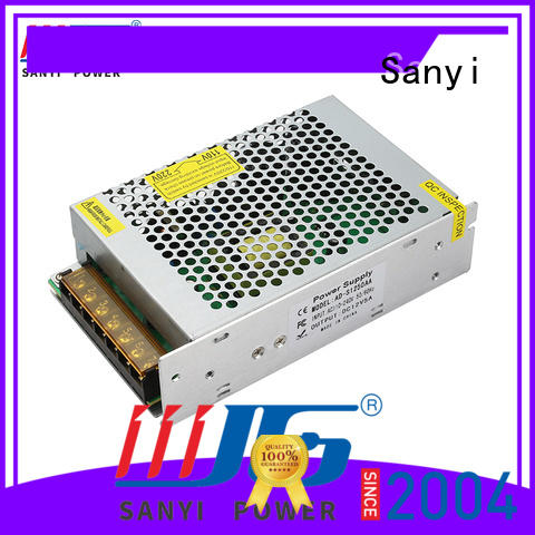 Sanyi ultrathin metal case power supply top brand for camping
