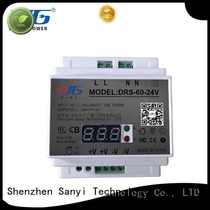 Sanyi large size 12v din rail power supply cheap factory price